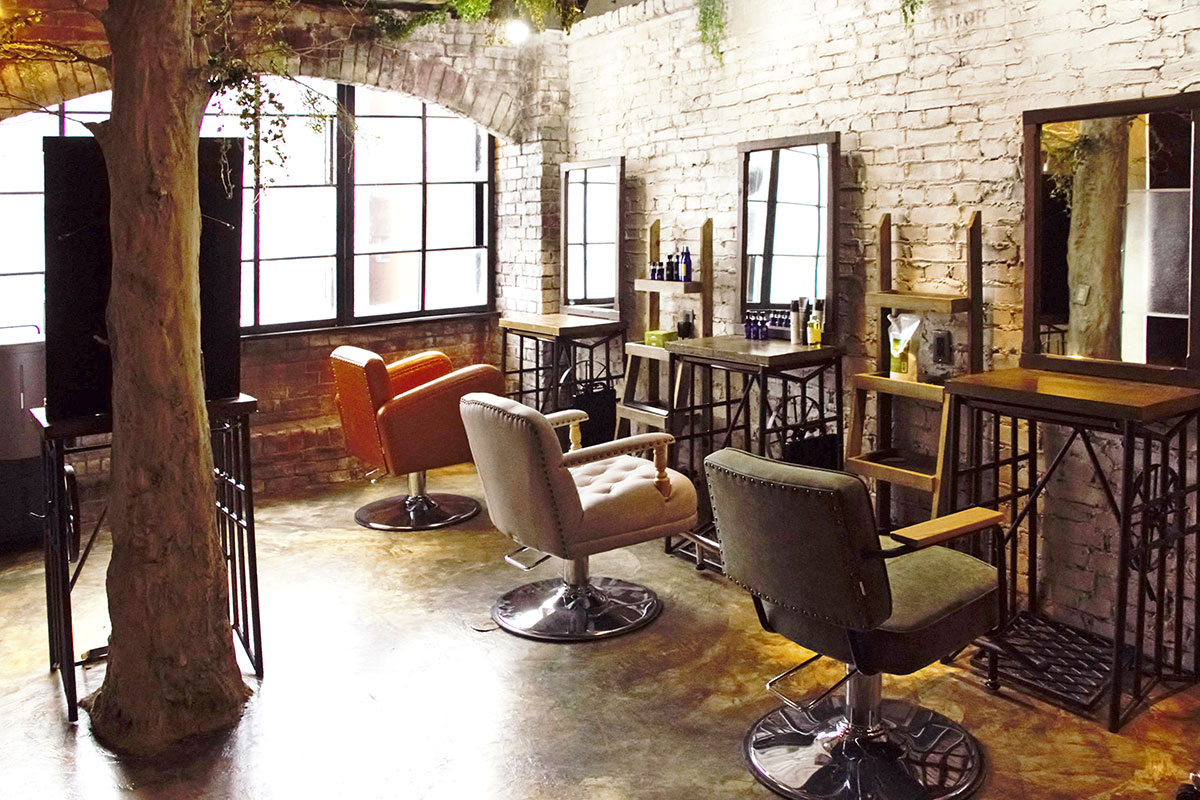 hair salon renovation03(No.06 Hair Work Shop)