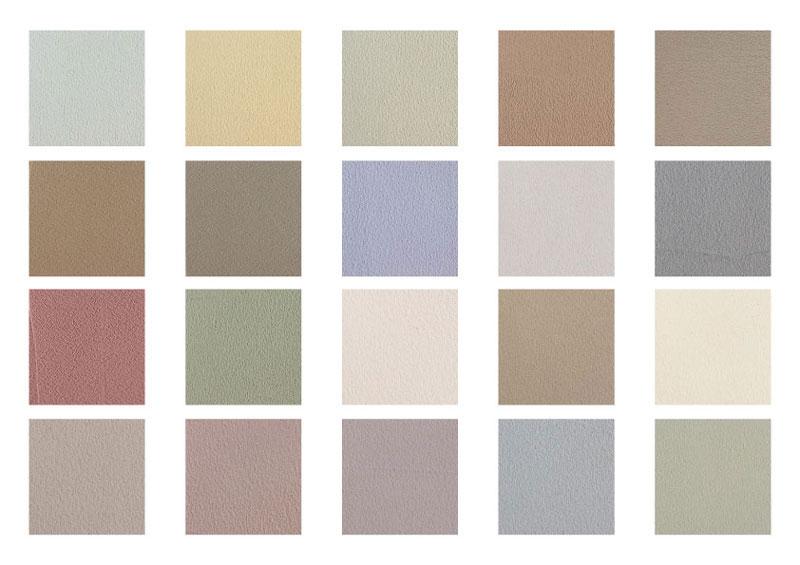 塗り壁 色数