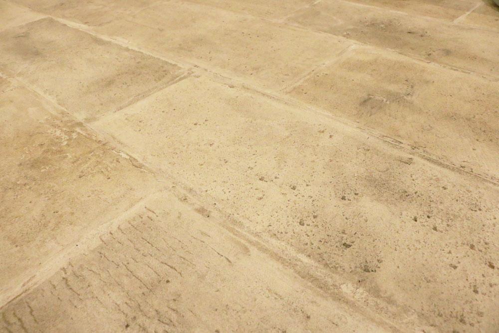 床 デザイン 石畳